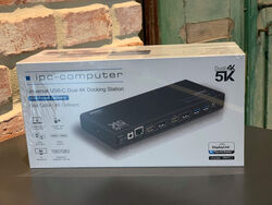 4k Dual Portreplikator von IPC-Computer