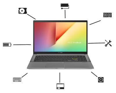 Asus Notebook Ersatzteile