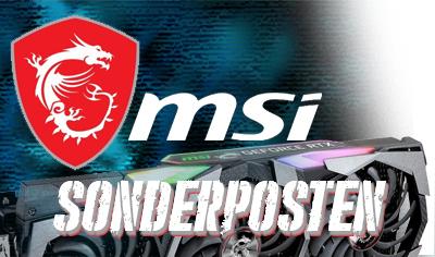 MSI Sonderposten